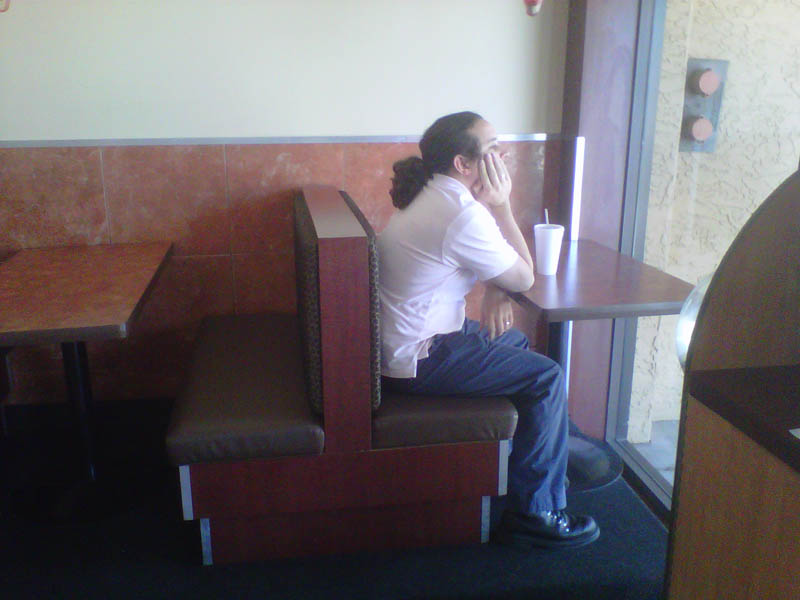 table for one forever alone The Friday Shirk Report   Volume 111