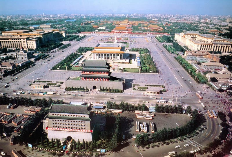 tiananmen square aerial This Day In History   May 4th