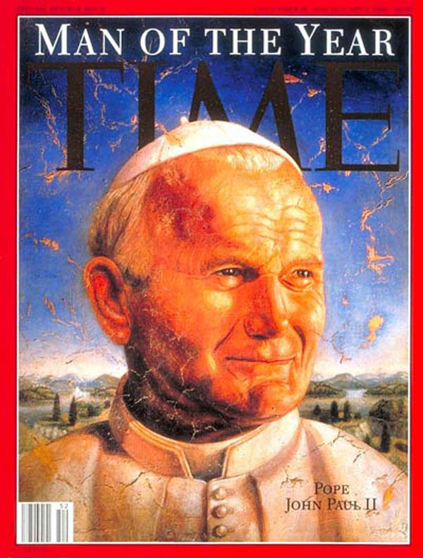 time man of the year cover 1994 pope john paul ii This Day In History   May 18th