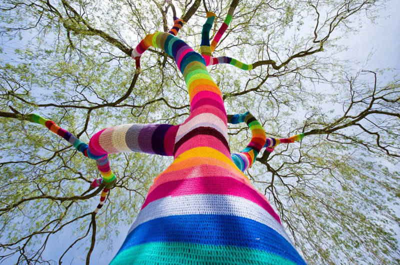 Picture of the Day: Yarn Bombing in Germany