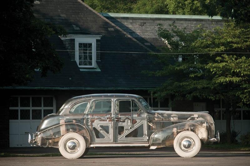 1939 pontiac plexiglass ghost car see through 1 The 1939 Pontiac Plexiglass Ghost Car