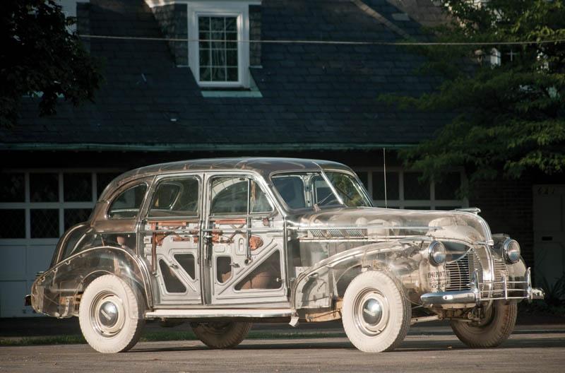 1939 pontiac plexiglass ghost car see through 12 The Evolution of the BMW Art Car