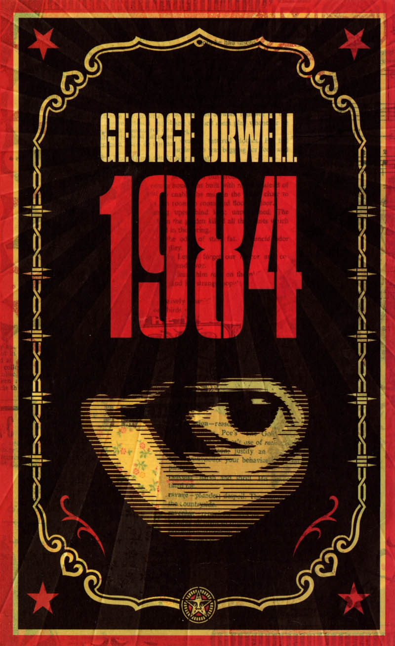 1984 book cover with eye george orwell This Day In History   June 8th