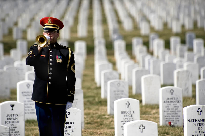 arlington national cemetery playing taps This Day In History   June 15th