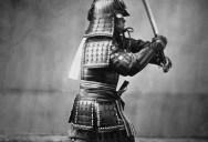 Picture of the Day: Armoured Samurai Warrior Circa 1860