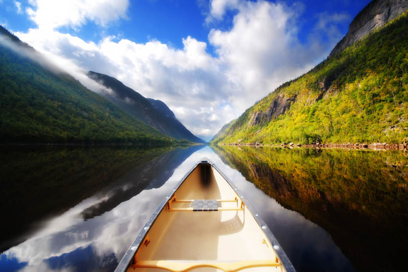 canoeing in canada Picture of the Day: Canoeing in Canada
