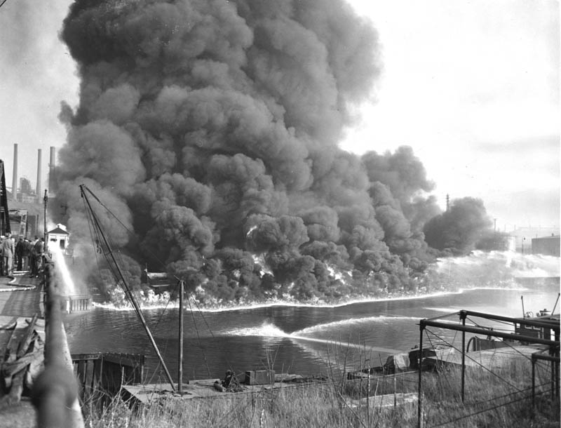 cuyahoga river on fire This Day In History   June 22nd
