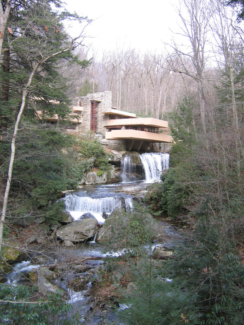 falling water house frank lloyd wright with waterfall This Day In History   June 8th