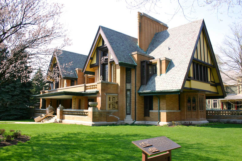 frank lloyd wright oakpark nathan g moore house This Day In History   June 8th