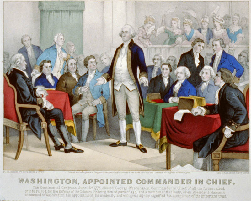 george washington appointed commnader in chief of continental army This Day In History   June 15th