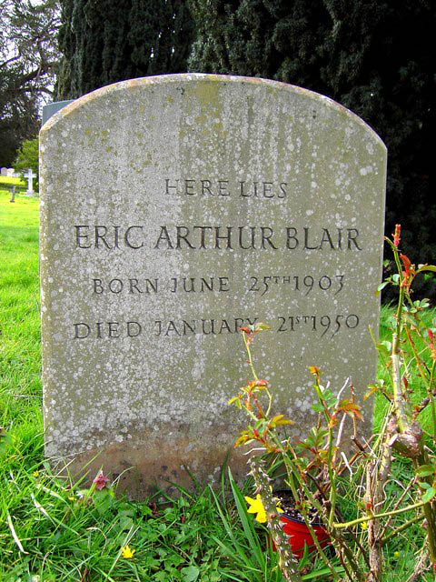 grave of george orwell eric arthur blair This Day In History   June 8th