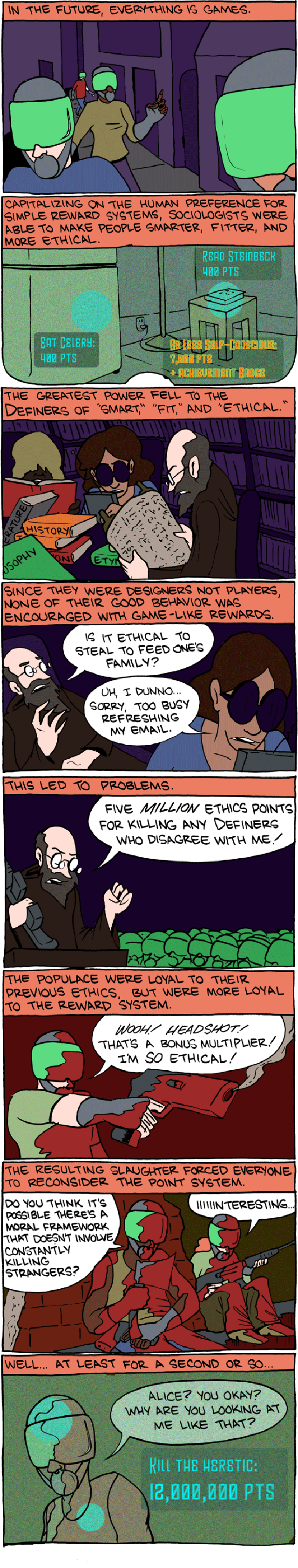 in the future everything is games smbc In the Future Everything is Games [Comic Strip]