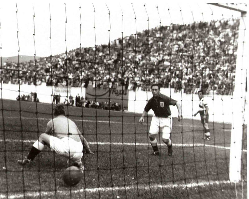 joe gaetjens goal vs england 1950 world cup team usa This Day In History   June 29th