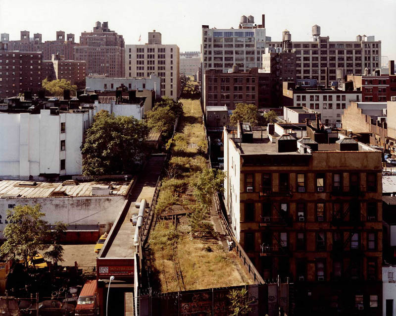 nyc highline aerial joel sternfeld The High Line: New Yorks Park in the Sky [25 pics]