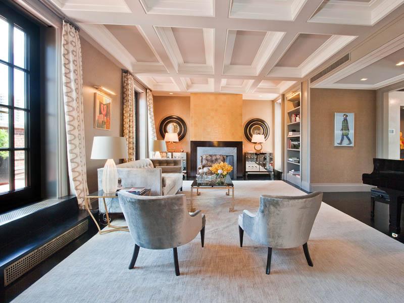 park avenue penthouse mansion manhattan new york city 17 Park Avenue Penthouse in Manhattan, NYC [20 photos]