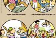 The Tooth Fairy [Comic Strip]