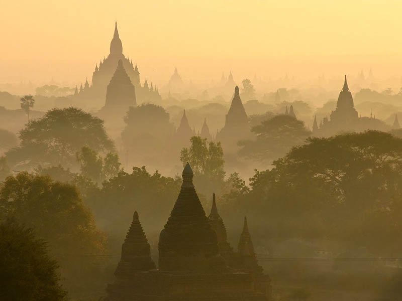 temples of bagan myanmar burma Picture of the Day: The Temples of Bagan