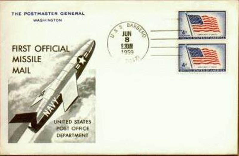 usps first official missile mail delivery This Day In History   June 8th