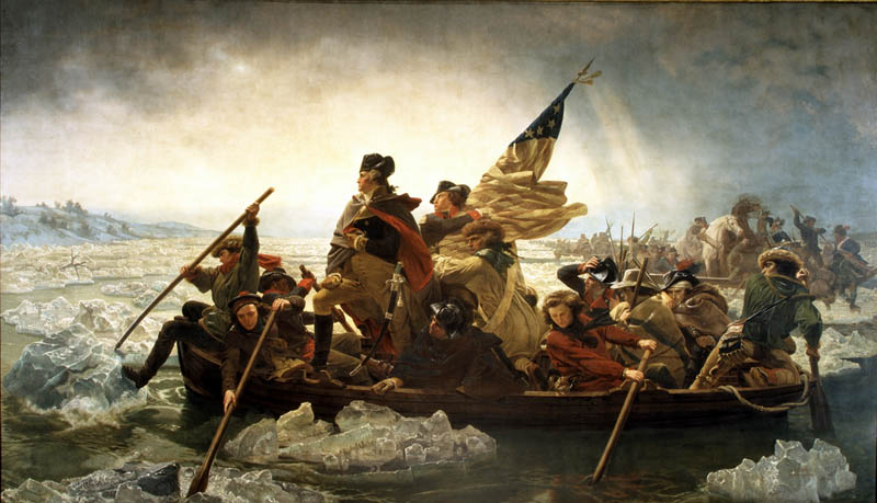 washington crossing the delaware by emanuel leutze This Day In History   June 15th