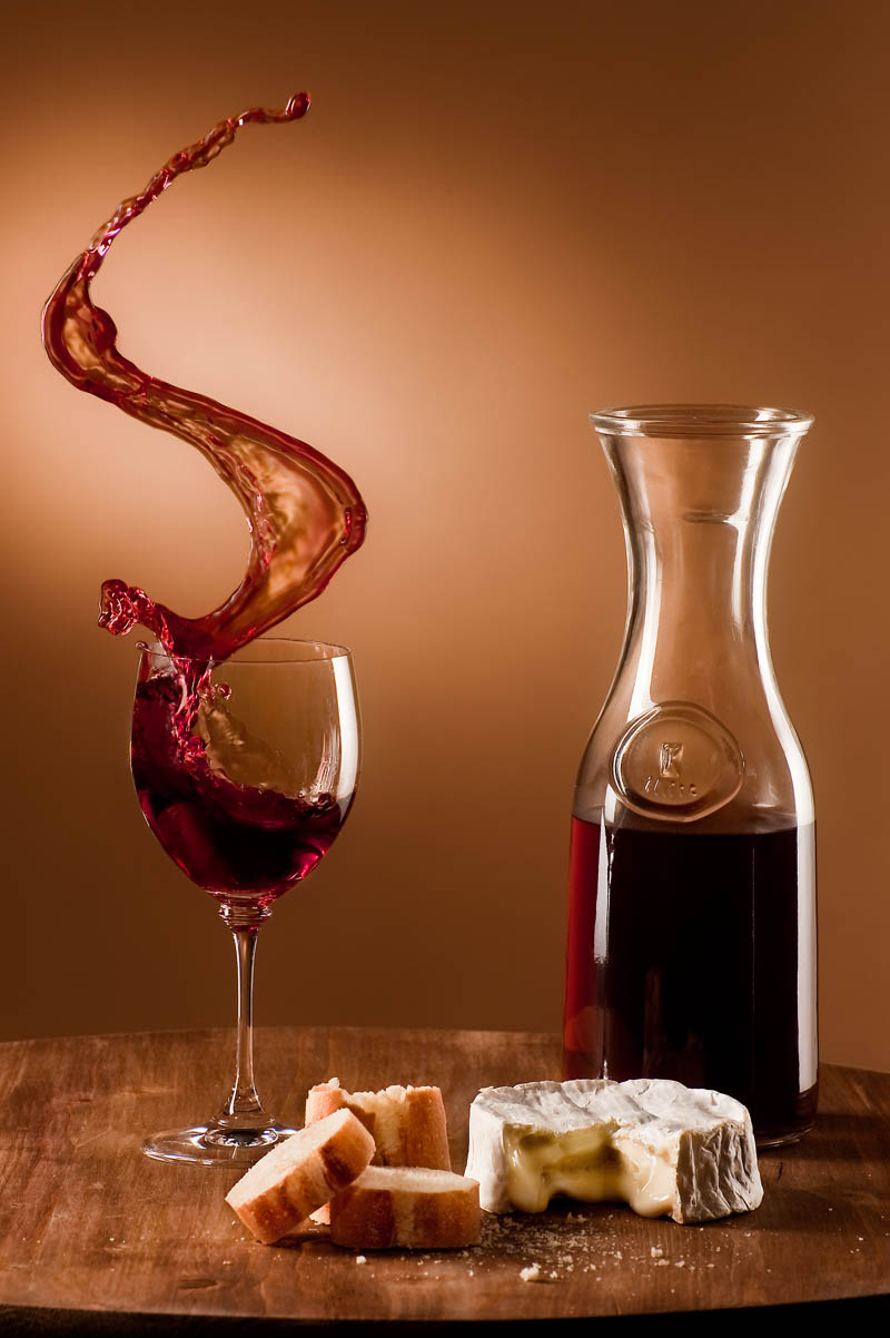 wine cheese and bread Picture of the Day: The Perfect Snack