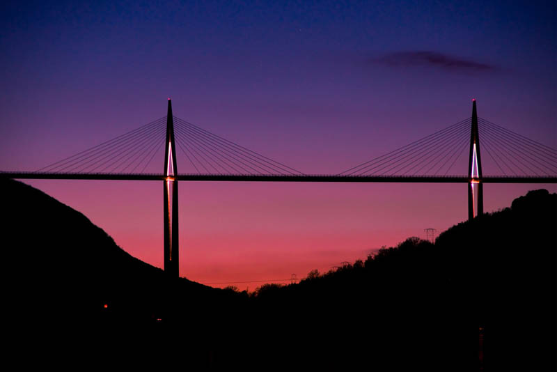worlds tallest bridge millau viaduct france 7 The Tallest Bridge in the World [20 pics]