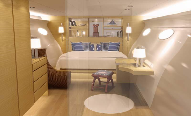 adastra interior The Trimaran Adastra Superyacht by John Shuttleworth [17 pics]