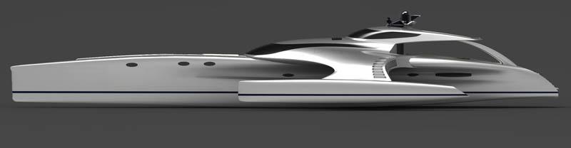 adastra superyacht john shuttleworth yacht designs power trimaran10 The Trimaran Adastra Superyacht by John Shuttleworth [17 pics]