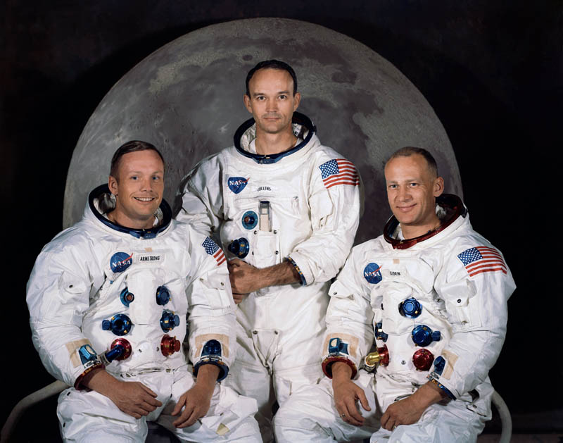 apollo 11 crew armstrong collins aldrin This Day In History   July 20th
