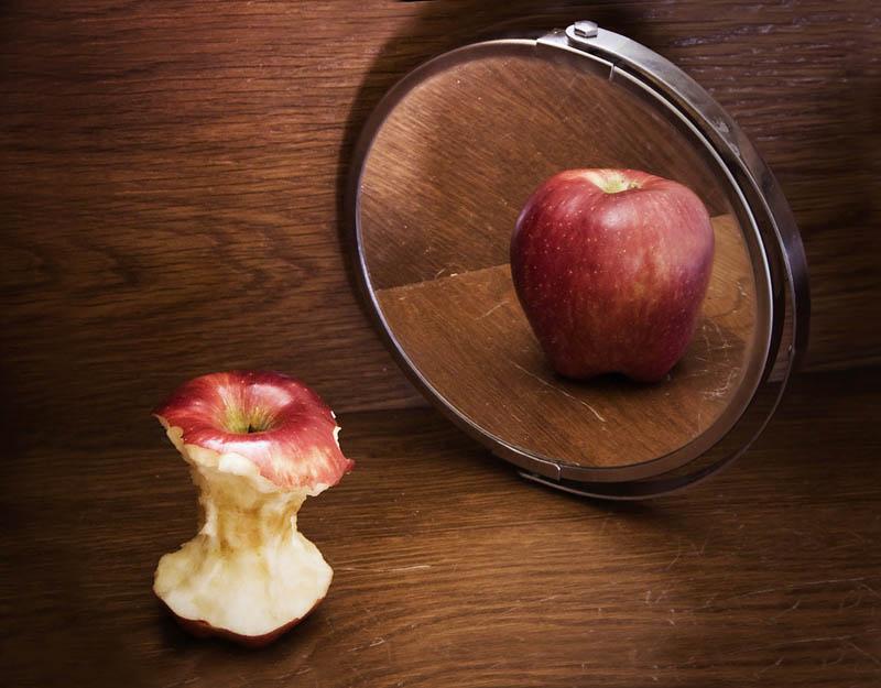 Manzana anoréxica