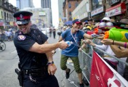 Picture of the Day: Cops in Canada