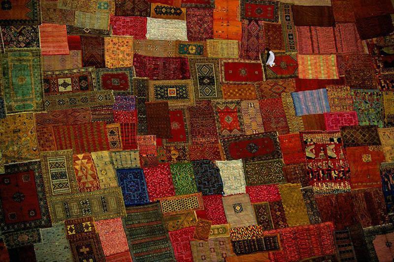 carpet factory marrakesh morocco Picture of the Day: Carpet Factory in Morocco