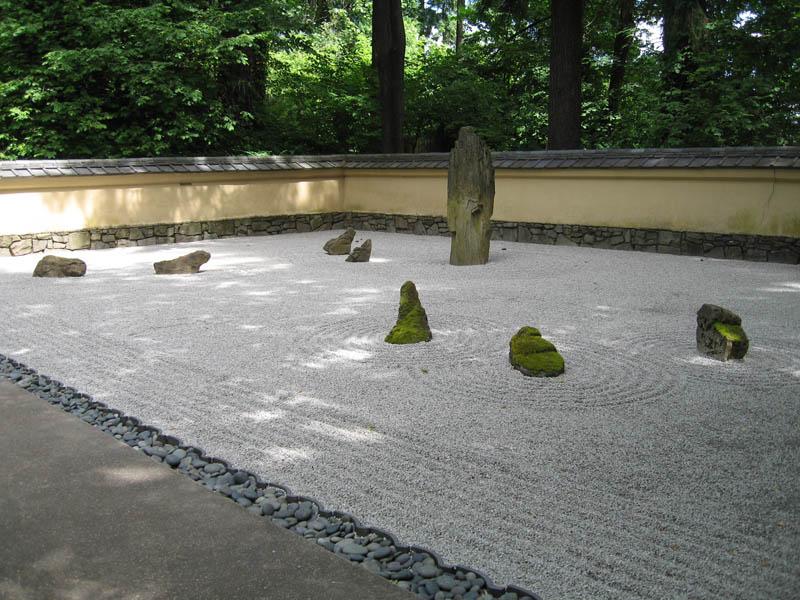 dry zen garden at portland japanese garden 20 Stunning Japanese Gardens Around the World