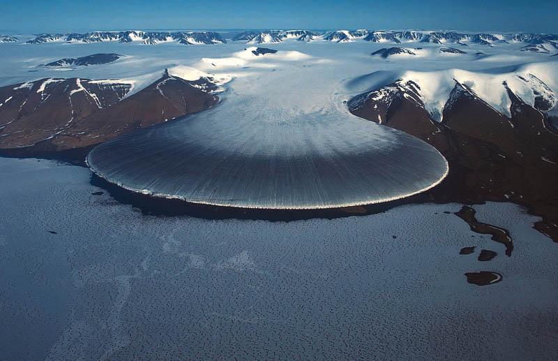 elephant food glacier greenland arctic Picture of the Day: Elephant Foot Glacier in Greenland