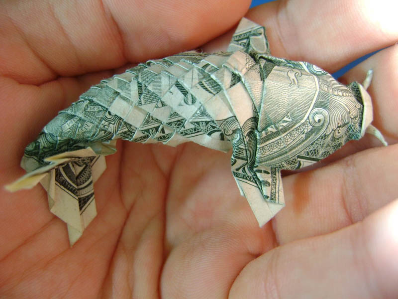 Picture of the Day: This Dollar Bill Looks Fishy