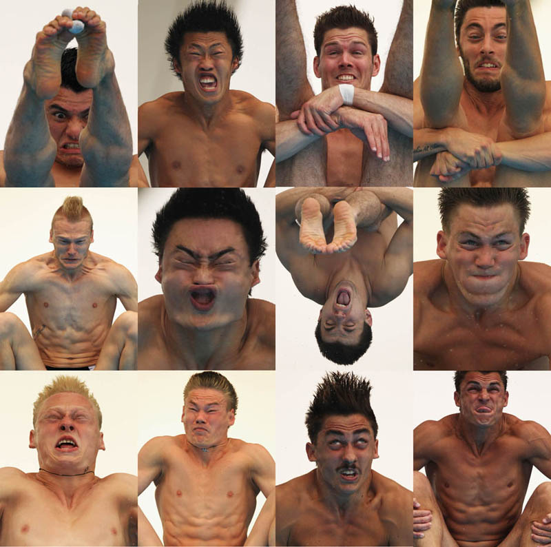 funny diving faces The Friday Shirk Report   Volume 120
