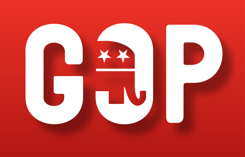 gop republican official logo united states This Day In History   July 6th