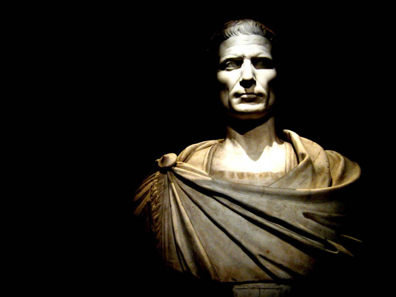 julius caesar bust black background This Day In History   July 13th