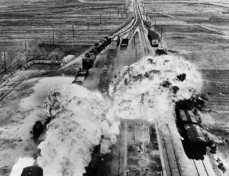 korean war train attack This Day In History   July 27th