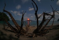 Picture of the Day: Krakatoa Eruption from Afar