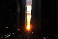 Picture of the Day: Manhattanhenge