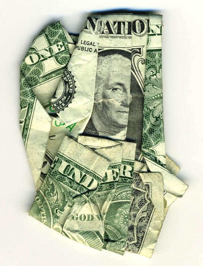 money currency art dan tague one nation under god Money Talks: Amazing Dollar Bill Art of Dan Tague [21 pics]
