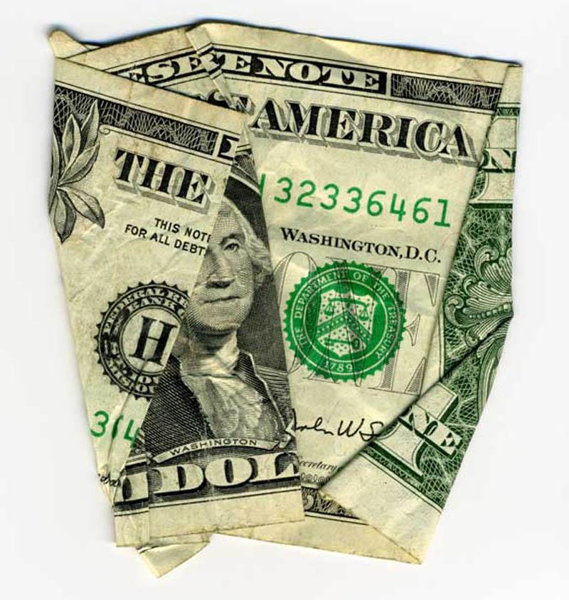 money currency art dan tague the american idol Money Talks: Amazing Dollar Bill Art of Dan Tague [21 pics]