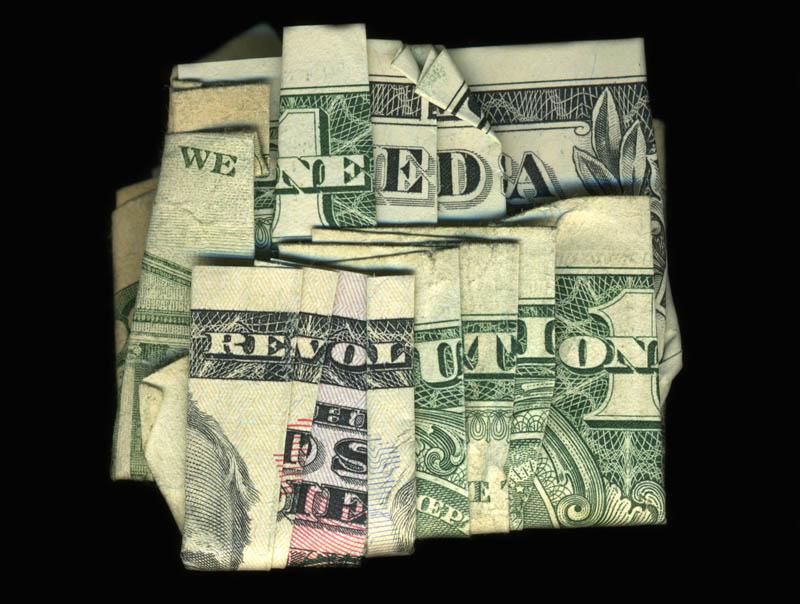Money Talks: Amazing Dollar Bill Art of Dan Tague [21 pics]