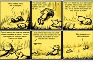 Nice Summer Days are Depressing [Comic Strip]