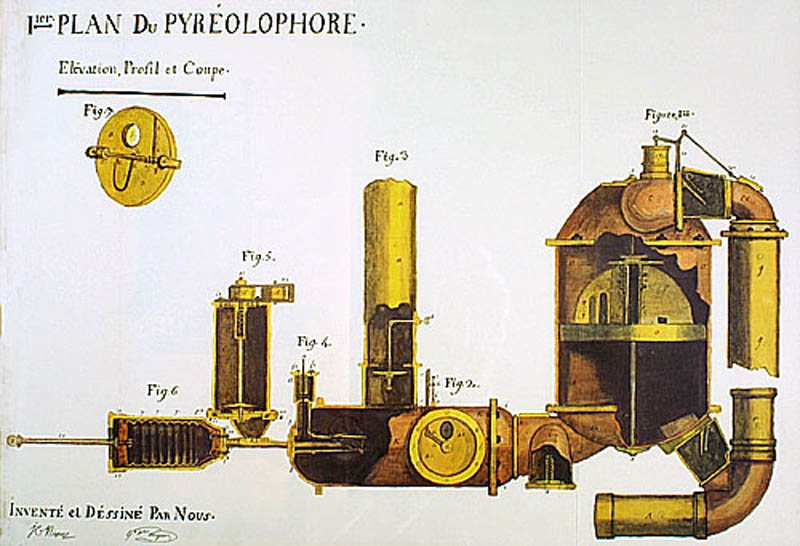 pyrc3a9olophore world first internal combustion engine This Day In History   July 20th