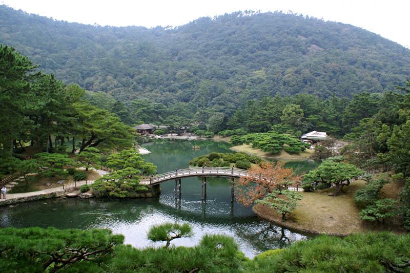 ritsurin garden in takamatsu kagawa prefecture japan 20 Stunning Japanese Gardens Around the World
