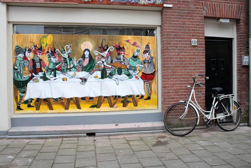 skount street art illustrations graffiti 16 Astonishing Street Art Murals by Skount