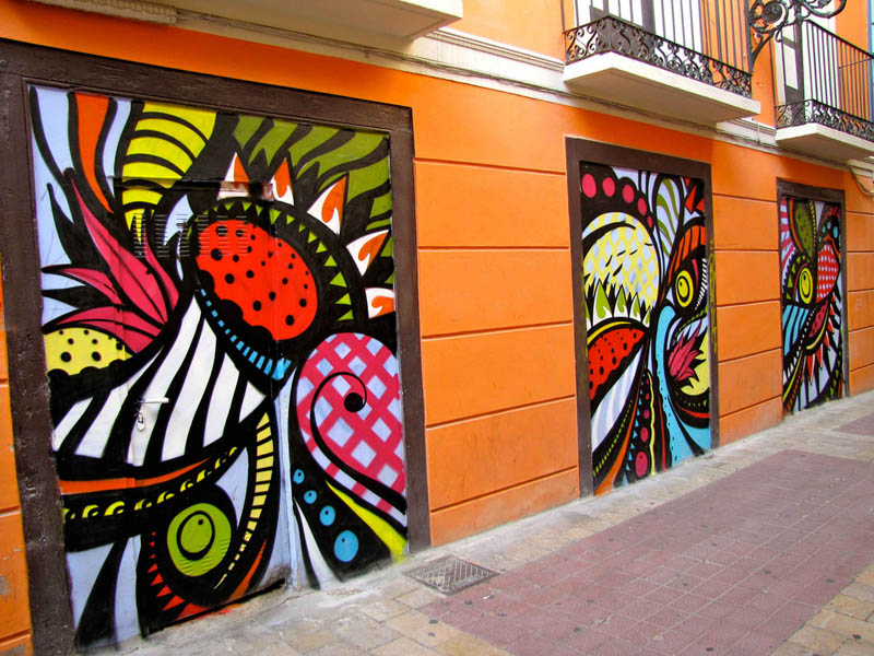 skount street art illustrations graffiti 7 Astonishing Street Art Murals by Skount