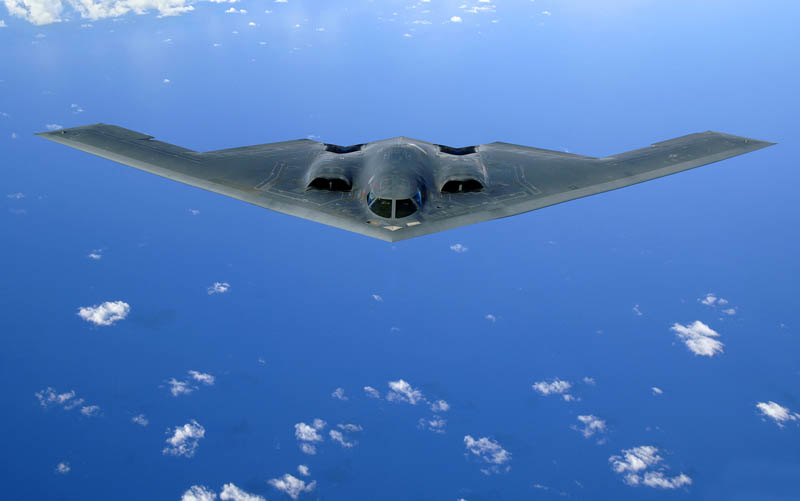 stealth bomber b 2 spirit 1 16 U.S. Air Force Bases and Naval Stations From Above