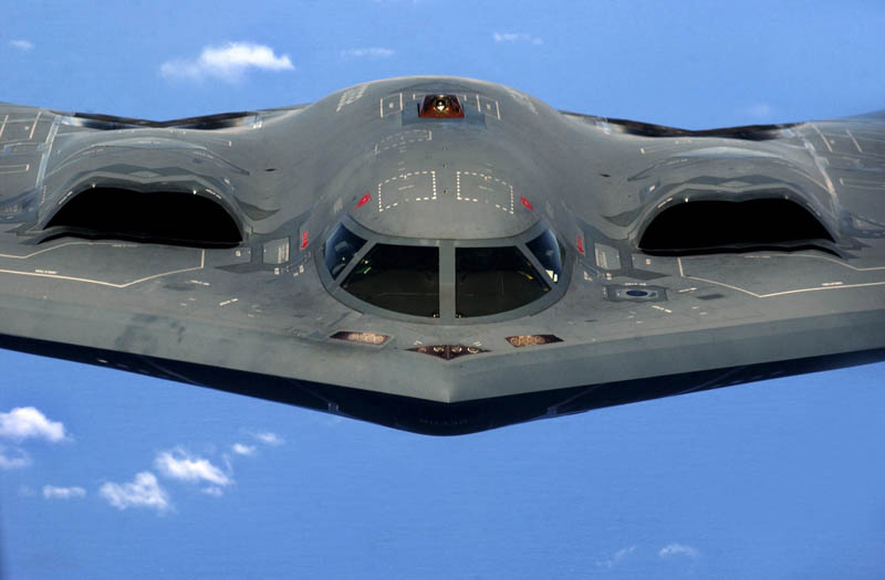 stealth bomber b 2 spirit head on 10 Things You Didnt Know About the Stealth Bomber